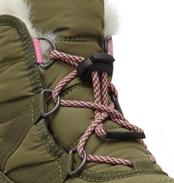 Sorel Youth Whitney Short Lace. Dětská zimní obuv b57ab4476c