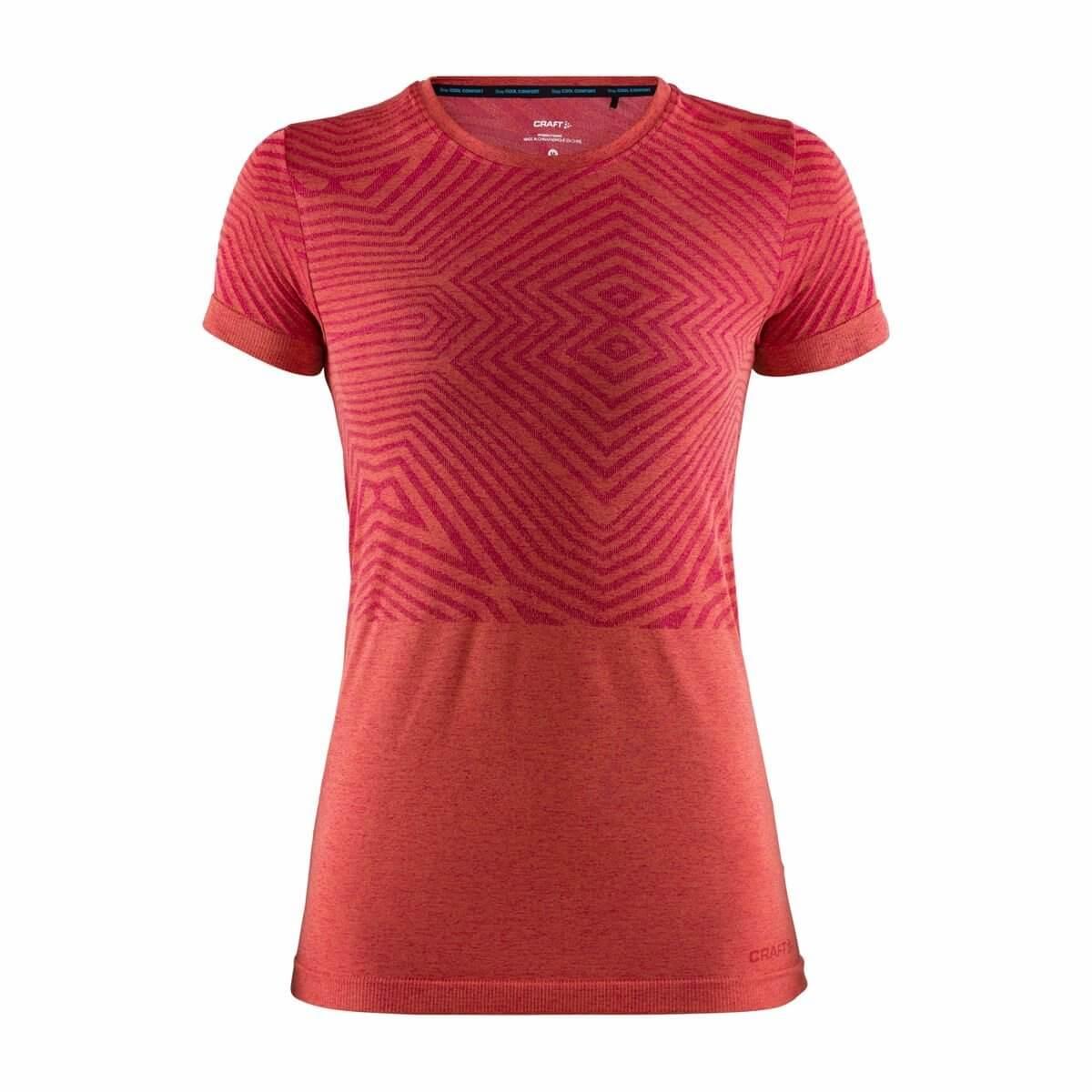 fcc505883bbe Craft W Triko Cool Comfort krátký rukáv růžová - dámské tričko ...