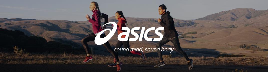 Sportovní boty a oblečení Asics
