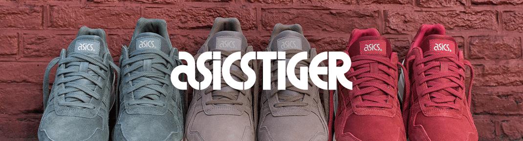 Boty a oblečení Asics Tiger