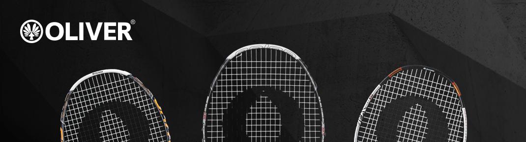 Austrüstung für Badminton und Squash Oliver