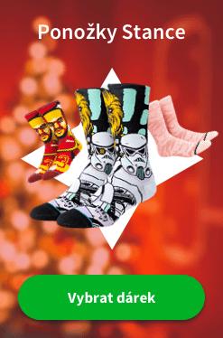 Vánoce ponožky Stance CZ 2019