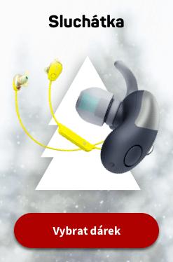 Vánoce sluchátka CZ 2020