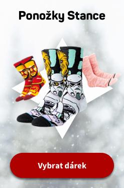 Vánoce ponožky Stance CZ 2020