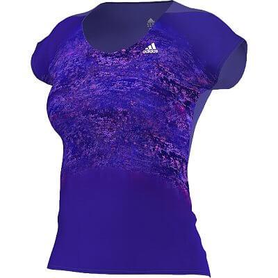 Dámské běžecké tričko adidas adizero ss tee w