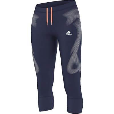 Dámské běžecké kalhoty adidas adizero sprintweb 3/4 ti w