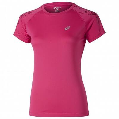 Dámské běžecké tričko Asics Stripe Top SS