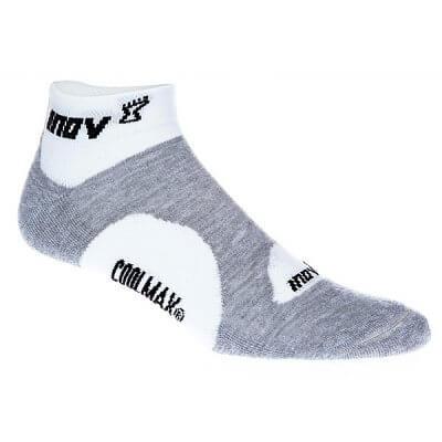 Ponožky Inov-8 RACESOC low 2p white/grey bílá