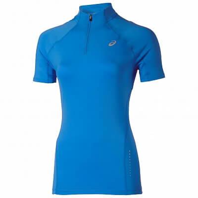 Dámské běžecké tričko Asics Mile SS 1/2 Zip Top