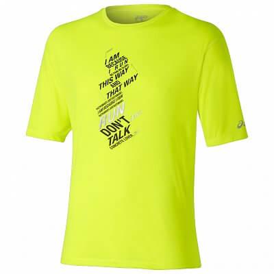 Pánské běžecké tričko Asics SS Graphic Top
