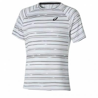 Pánské tenisové tričko Asics Club Graphic Short Sleeve Tee