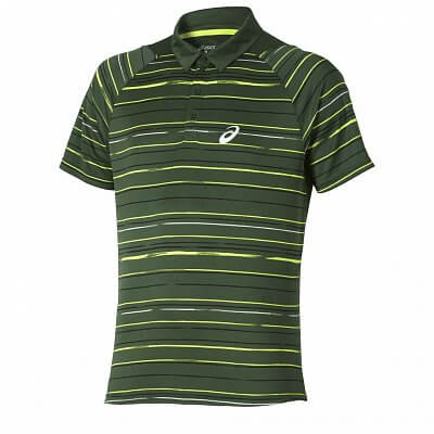 Asics Club Graphic Short Sleeve Polo