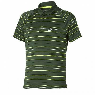 Pánské tenisové tričko Asics Club Graphic Short Sleeve Polo