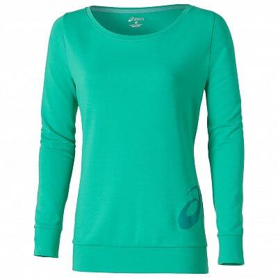 Dámské volnočasové tričko Asics LS Large Logo Tee