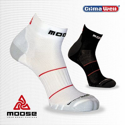 Ponožky Moose Squash Black
