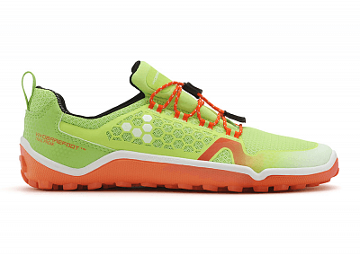 Barefoot obuv VIVOBAREFOOT TRAIL FREAK  L HP Mesh Lime/Orange