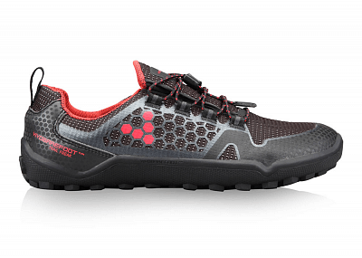 Barefoot obuv VIVOBAREFOOT TRAIL FREAK WP L 3M Mesh Black/Red