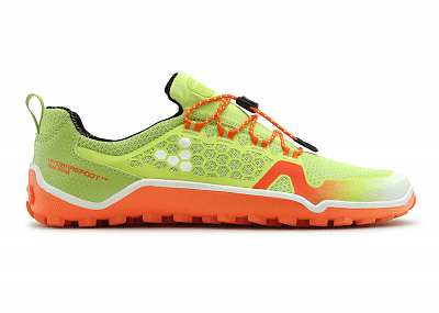 Barefoot obuv VIVOBAREFOOT TRAIL FREAK  M HP Mesh Lime/Orange