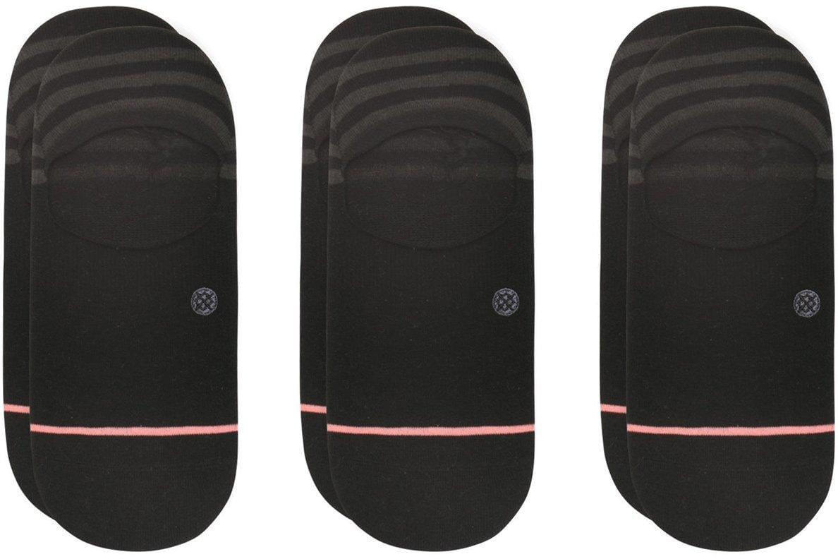 Dámske ponožky Stance Uncommon 3 Pack Black