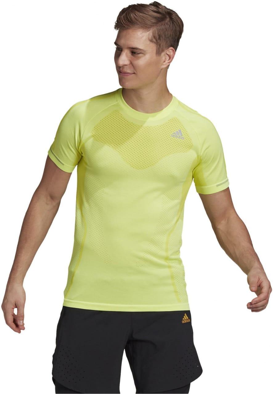 Pánské sportovní tričko adidas Primeknit Tee M