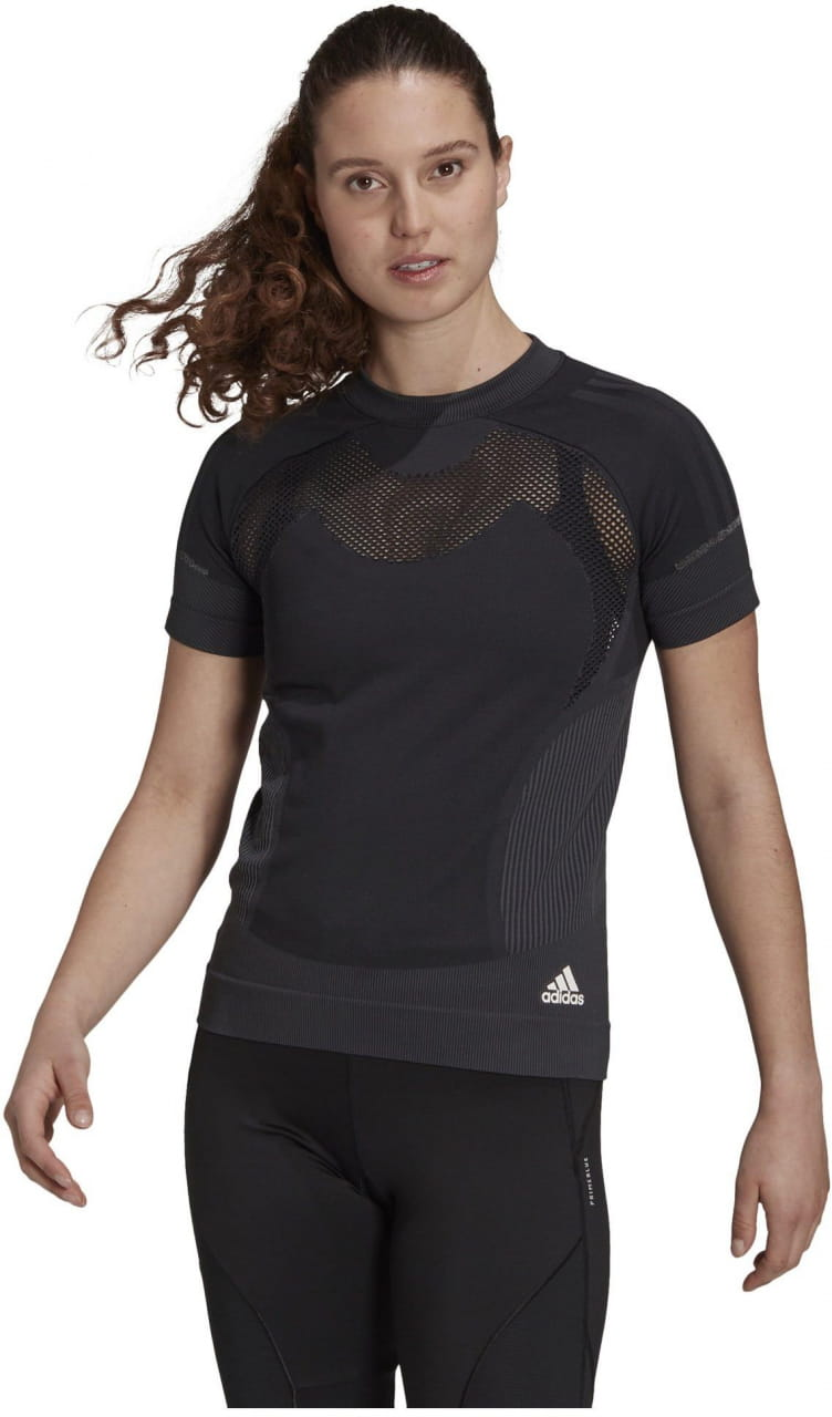 Dámské běžecké tričko adidas Primeknit Tee W