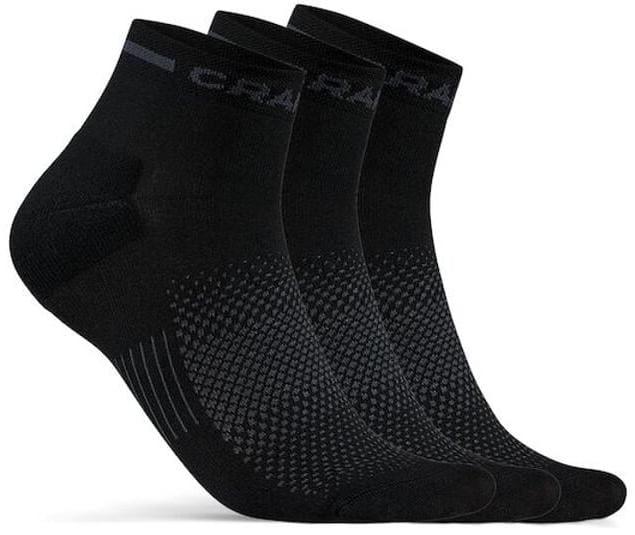 Ponožky Craft Ponožky CORE Dry Mid 3-pack černá
