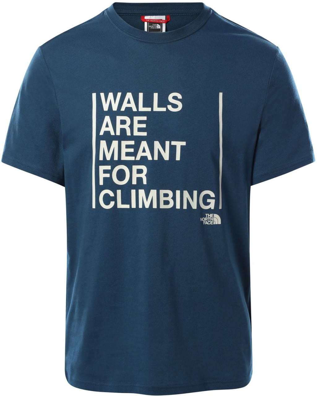 Pánské lezecké tričko The North Face Men's S/S Walls Are For Climbing Tee