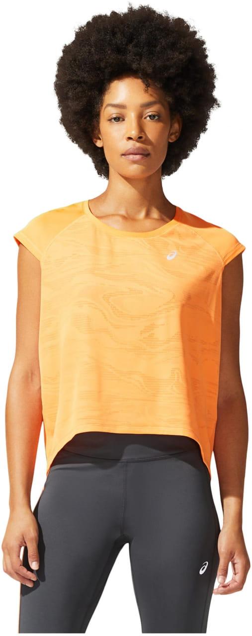 Dámské běžecké tričko Asics Ventilate Crop Top