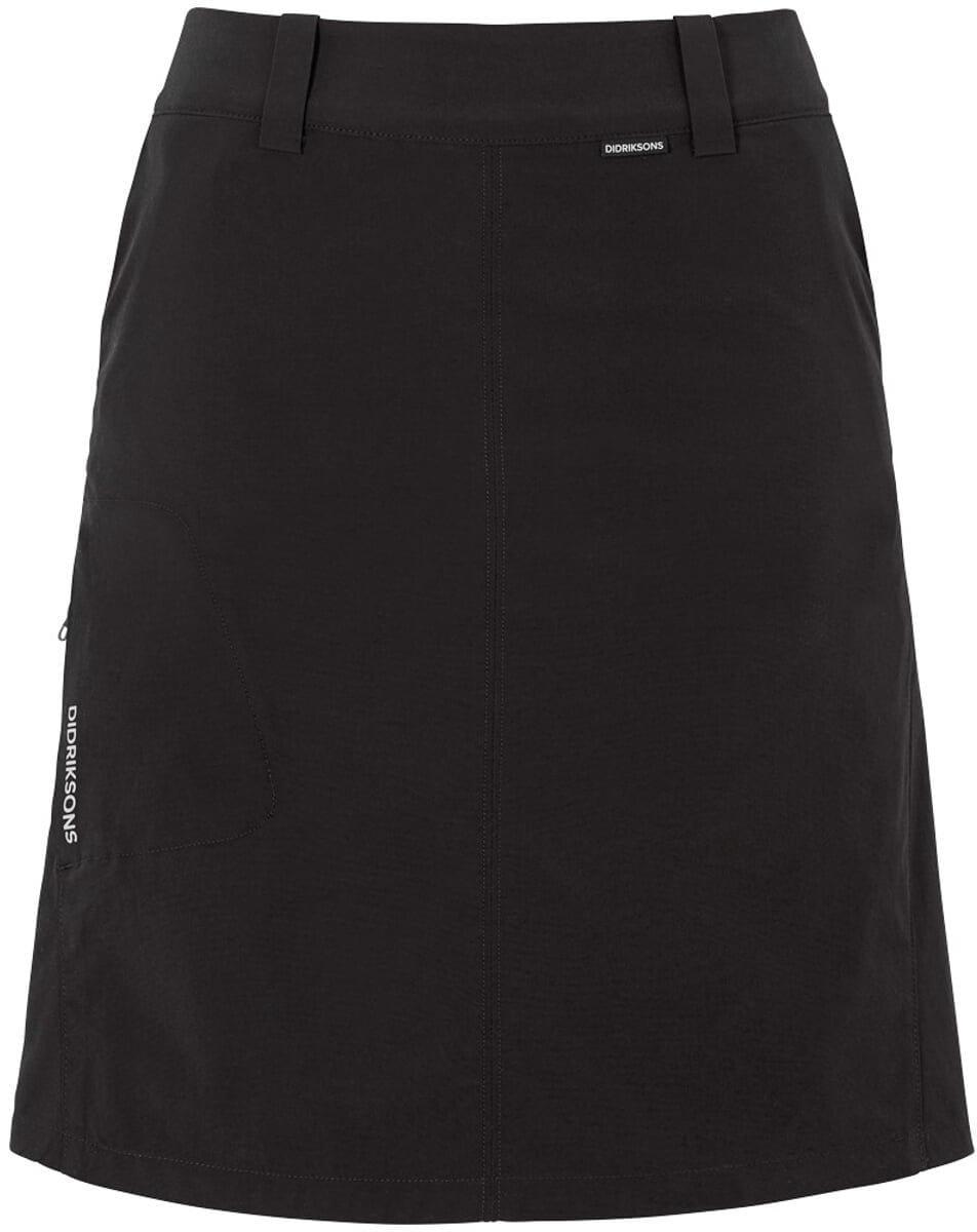 Sukně a šaty Didriksons Sukně LIV dámská černá