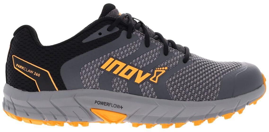 Běžecká obuv Inov-8  PARKCLAW 260 M (S) grey/black/yellow šedá
