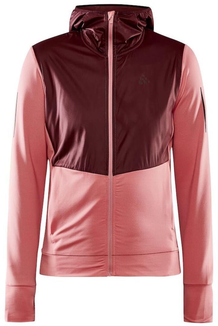 Kabátok Craft W Bunda ADV Charge růžová