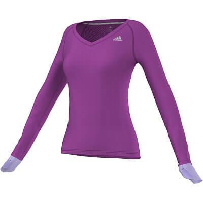 Dámské běžecké tričko adidas sn l-s w