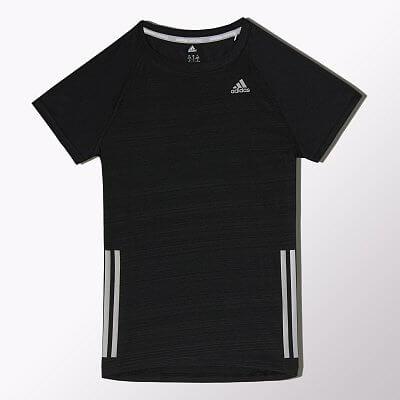 Dámské běžecké tričko adidas sn s-s w