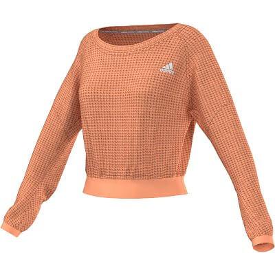 Dámský běžecký svetr adidas cozy pullover
