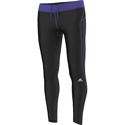Dámské běžecké kalhoty adidas response long tights w