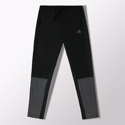 Pánské běžecké kalhoty adidas supernova storm slim track pant