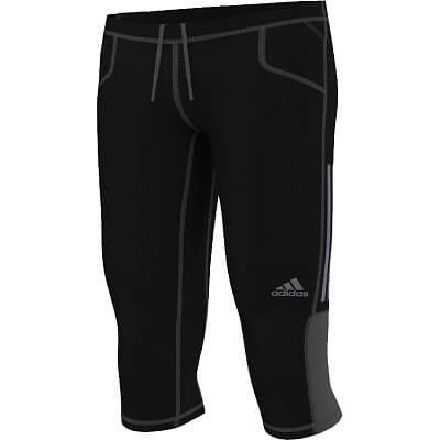 Pánské běžecké kalhoty adidas sn 3/4 tight m