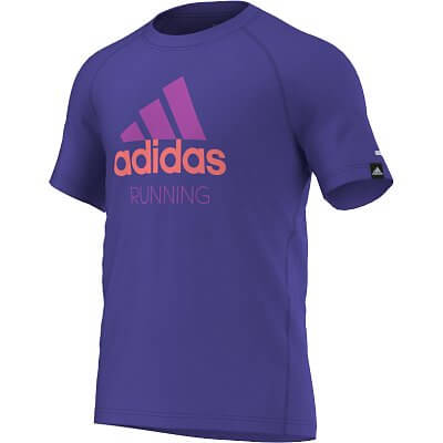 Pánské běžecké tričko adidas pes adi running
