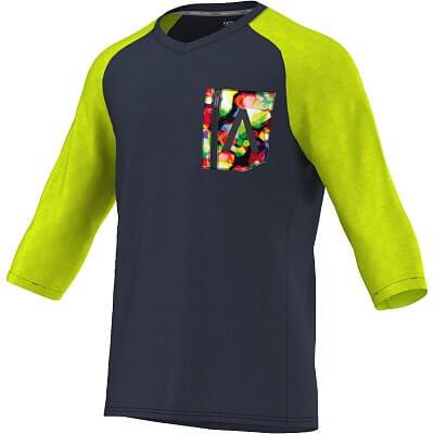 Pánské běžecké tričko adidas aktiv ls tee m