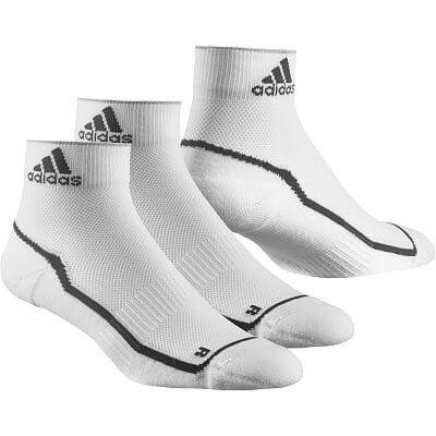 Ponožky adidas adizero cushioned ankle socks, 2 pairs