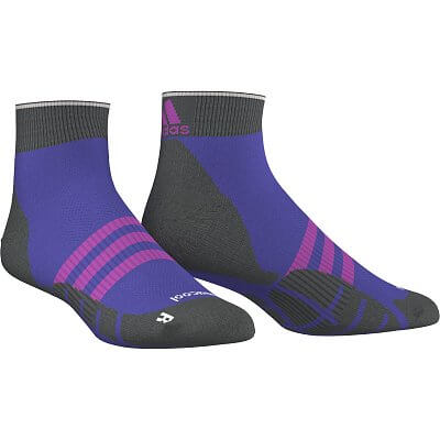 Ponožky adidas run thin-cushioned id ankle socks, 1 pair