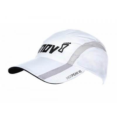 Čepice Inov-8 HOTPEAK 40 white/grey bílá