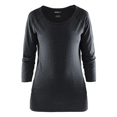 Trička Craft W Triko Seamless Touch černá