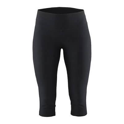 Craft W Kalhoty Pure Capri černá