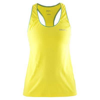 Trička Craft W Nátělník Basic žlutá