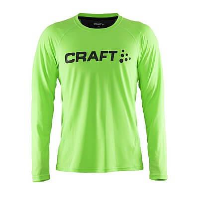 Trička Craft Triko Precise LS dlouhý rukáv zelená