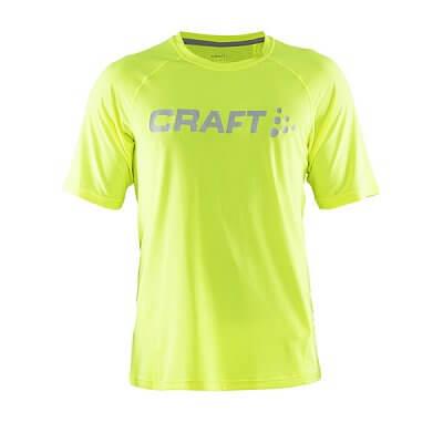 Trička Craft Triko Precise krátký rukáv žlutá