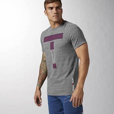 Pánské tričko na CrossFit Reebok CrossFit TRIBLEND T
