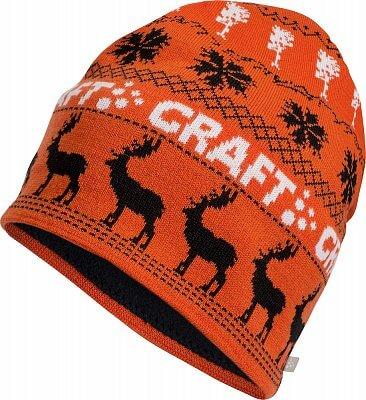 Čepice Craft Čepice Inge oranžová