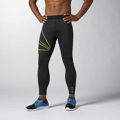 Pánské běžecké kalhoty Reebok OSR TIGHT